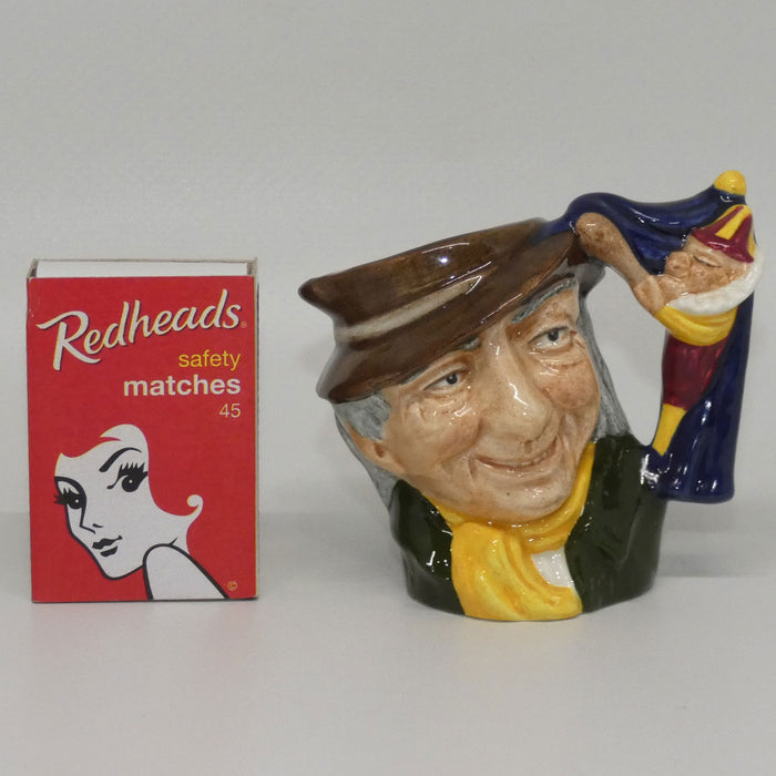 D6596 Royal Doulton miniature character jug Punch and Judy Man