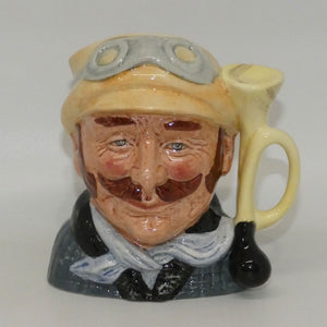D6637 Royal Doulton small character jug Veteran Motorist