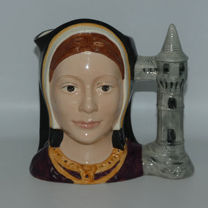 D6643 Royal Doulton large character jug Catherine of Aragon
