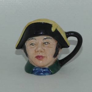 D6686 Royal Doulton tiny character jug Mr Bumble