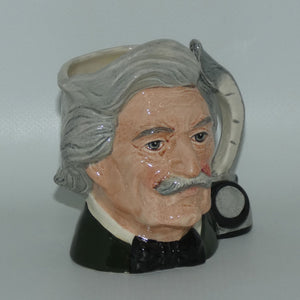 D6694 Royal Doulton small character jug Mark Twain