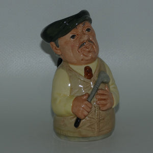 D6740 Royal Doulton Doultonville Major Green