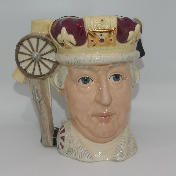 D6749 Royal Doulton large double sided character jug George III and George Washington