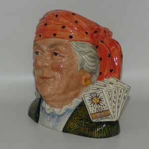 D6874 Royal Doulton large character jug The Fortune Teller