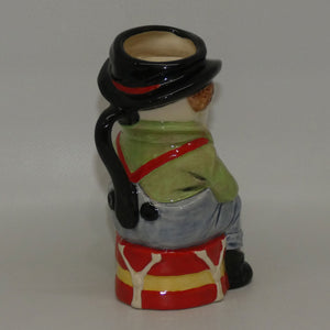 D6935 Royal Doulton toby jug The Clown (Ltd Ed)