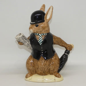 D6966 Royal Doulton Bunnykins London City Gent Teapot