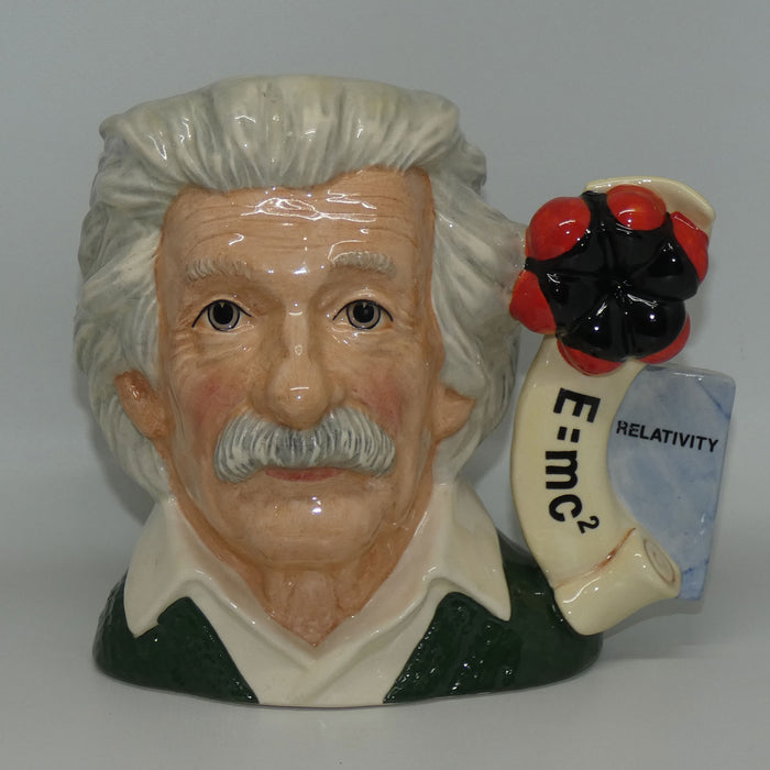 D7023 Royal Doulton large character jug Albert Einstein