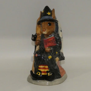 D7166 Royal Doulton Bunnykins Witching Time Toby Jug (Ltd Ed)