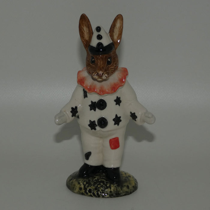 DB128 Royal Doulton Bunnykins Clown | Red Ruff