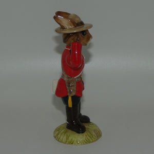 DB135 Royal Doulton Bunnykins Mountie
