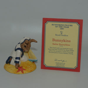 DB166 Royal Doulton Bunnykins Sailor