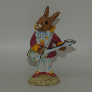 DB016 Royal Doulton Bunnykins Mr Bunnybeat Strumming (boxed)