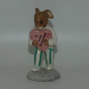 DB174 Royal Doulton Bunnykins Sweetheart | I Love Bunnykins