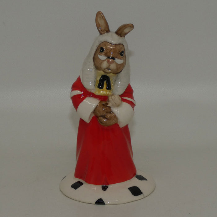 DB188 Royal Doulton Bunnykins Judge