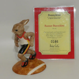DB205 Royal Doulton Bunnykins Runner (Box | Cert)