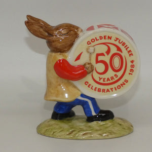 DB026A Royal Doulton Bunnykins Drummer (50 Years)