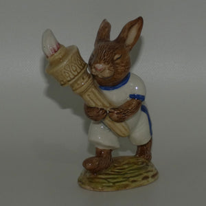 DB028A Royal Doulton Bunnykins Olympic (White & Blue)