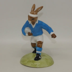 DB318 Royal Doulton Bunnykins Rugby Player