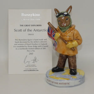 DB418 Royal Doulton Bunnykins Scott of the Antarctic