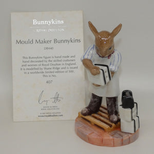 DB440 Royal Doulton Bunnykins Mould Maker
