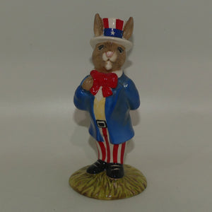 DB050 Royal Doulton Bunnykin Uncle Sam