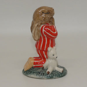 DB063 Royal Doulton Bunnykins Bedtime (Red & White)