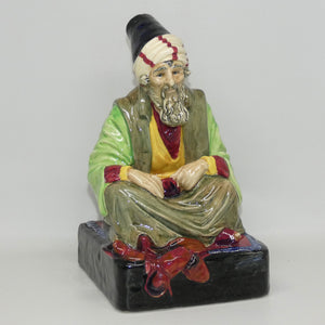 HN1283 Royal Doulton figure The Cobbler (Green/Grey)