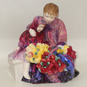HN1342 Royal Doulton figure The Flower Seller's Children | 1960s