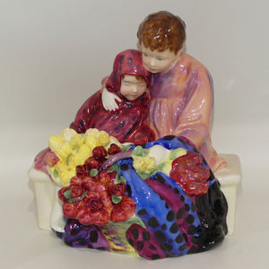 HN1342 Royal Doulton figure The Flower Seller's Children | 1990's