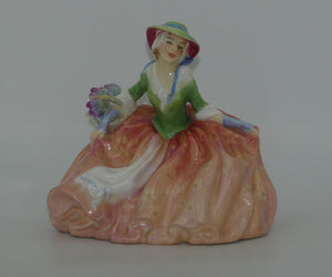 HN1871 Royal Doulton figure Annabella (Pink Floral)