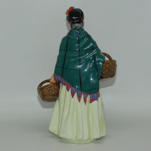 HN1953 Royal Doulton figure The Orange Lady (Green)