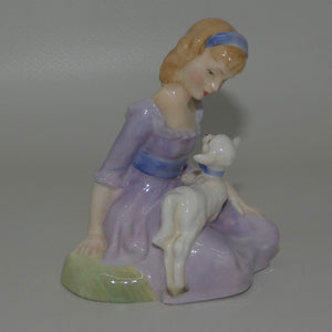 HN2048 Royal Doulton figure Mary Had a Little Lamb