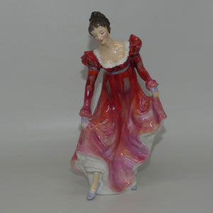 HN2066 Royal Doulton figure Minuet (Red)