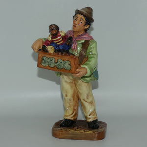 HN2173 Royal Doulton figure The Organ Grinder