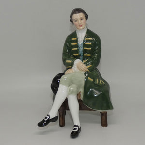 HN2227 Royal Doulton figure Gentleman from Williamsburg