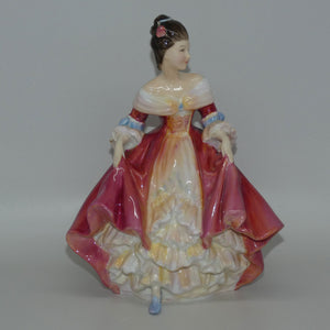 HN2229 Royal Doulton figure Southern Belle (Red)