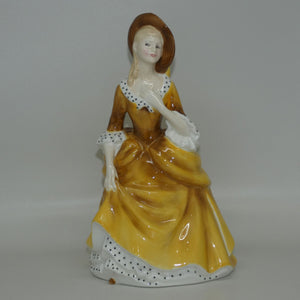 HN2275 Royal Doulton figure Sandra (Gold)