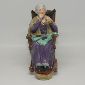HN2352 Royal Doulton figure A Stitch in Time
