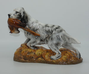 HN2529 Royal Doulton English Setter with Pheasant