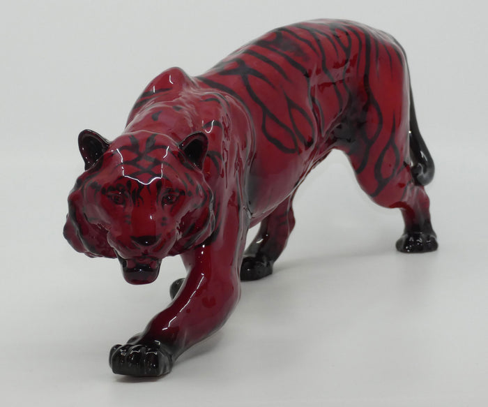 HN2646 Royal Doulton Flambe Stalking Tiger (Large)