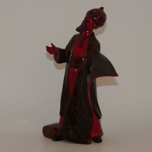 HN2776 Royal Doulton figure Carpet Seller (Flambe)