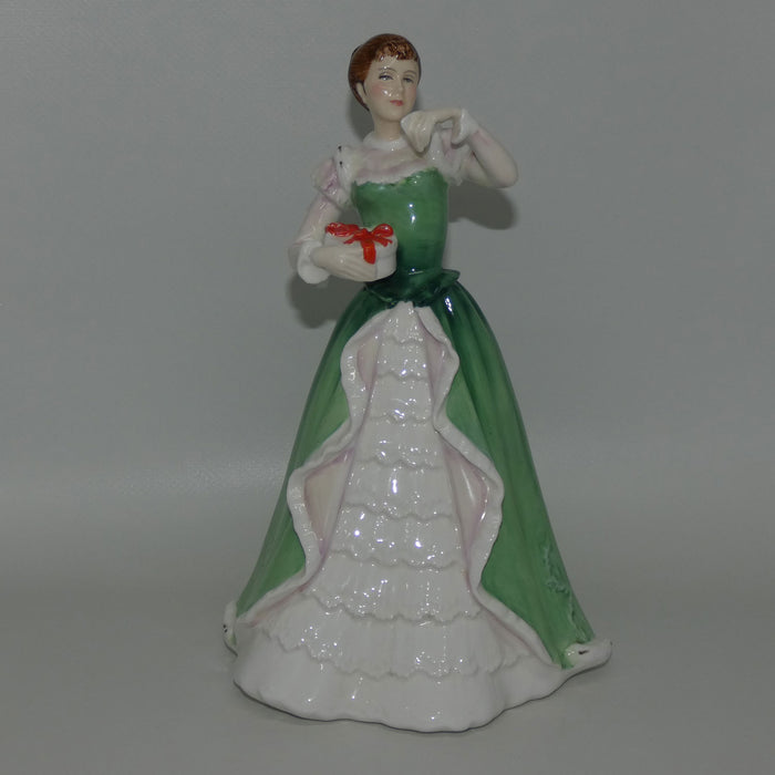 HN3096 Royal Doulton figure Merry Christmas