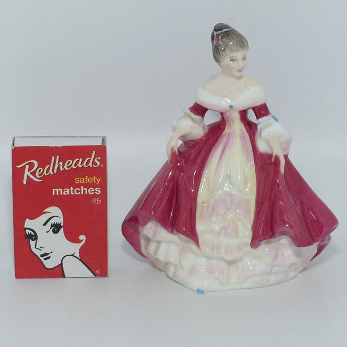 HN3174 Royal Doulton figure Southern Belle (Red)