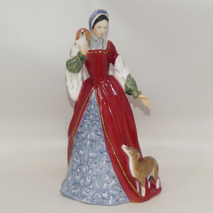 HN3232 Royal Doulton figure Anne Boleyn