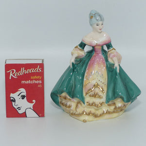 HN3244 Royal Doulton figure Southern Belle (Green)