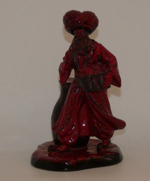 HN3278 Royal Doulton figure Lamp Seller (Flambe)