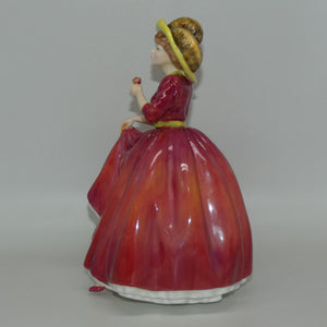 HN3376 Royal Doulton figure Single Red Rose