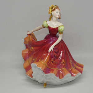 HN3417 Royal Doulton figure Ninette (Red)