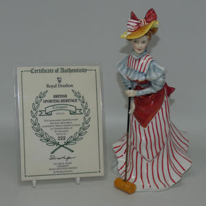 HN3470 Royal Doulton figure Croquet