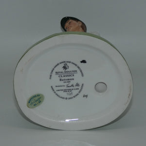 HN4356 Royal Doulton figure The Batsman (Ltd Ed)